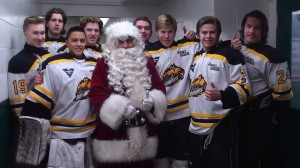 Santa and Bruins