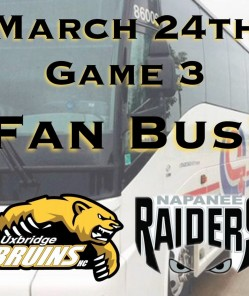 Bruins Fan Bus To Napanee!