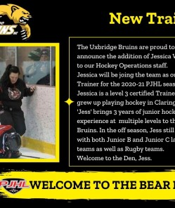 Bruins welcome new Trainer to the Den